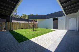 White Road courtyard