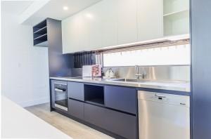 White Road kitchen