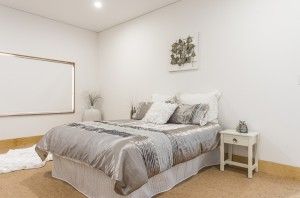 White Road master bedroom