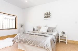 White Road master bedroom